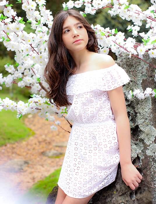 Vestido Curto Laise Branco