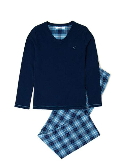Pijama Oxford Adulto